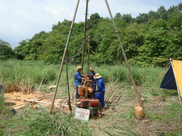 Khoan khảo sát địa chất tại Hà Nam