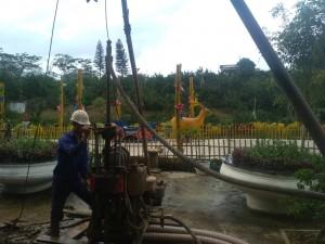 Khảo sát địa chất tại Hòa Bình - Dự án đầu tư xây dựng Công viên Heritist Park tỉnh Hòa Bình