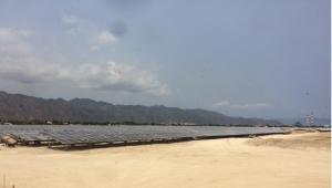Thí nghiệm cọc tại Bình Thuận -  Dự án Nhà máy điện mặt trời Vĩnh Hảo 6 tỉnh Bình Thuận