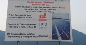 Thí nghiệm cọc và thi công cọc đại trà Nhà Máy điện mặt trời Sao Mai 210MW An Giang