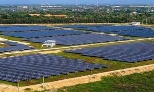 Thi công ép cọc, thí nghiệm cọc thép cho nhà máy điện mặt trời Europlast Phú Yên 50MW